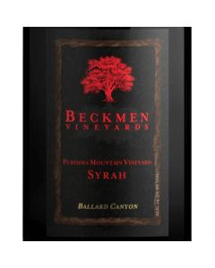 "2016 BECKMEN ""PURISIMA MOUNTAIN VINEYARD"" BALLARD CANYON SYRAH, SANTA BARBARA COUNTY, CALIFORNIA"