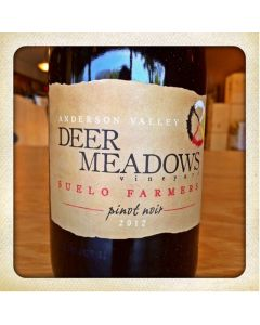 "2014 SUELO FARMERS ""DEER MEADOWS"" ANDERSON VALLEY PINOT NOIR"