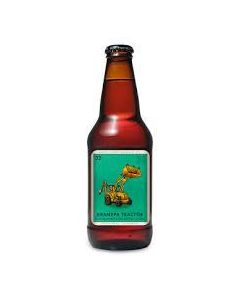 """BARLEY FORGE BREWING COMPANY """"GRANDPA TRACTOR"""" DORTMUNDER-STYLE EXPORT LAGER, 12oz , COSTA MESA, CAL"""