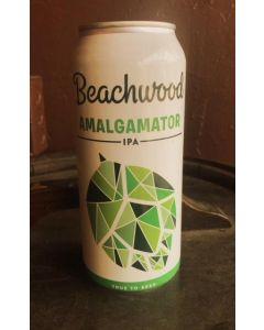 "BEACHWOOD BREWERY ""AMALGAMATOR"" IPA, 16OZ, HUNTINGTON BEACH, CALIFORNIA"