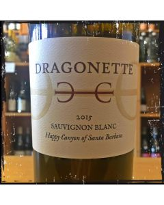 2015 DRAGONETTE CELLARS HAPPY CANYON SAUVIGNON BLANC