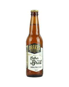 "DRAKES BREWERY ""BRIGHTSIDE"" EXTR BRUT IPA, 12OZ, SAN LEANDRO, CALIFORNIA"