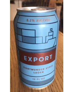"FORT POINT BREWERY ""EXPORT"" DORTMUNDER STYLE LAGER, 12oz(CAN) SAN FRANCISCO CALIFORNIA"