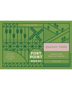 "FORT POINT BREWERY ""GALAXY PARK"" GALAXY SINGLE HOP IPA SERIES, 12OZ (CAN), SAN FRANCISCO, CALIFORNIA"