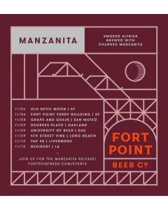 "FORT POINT BREWERY ""MANZANITA"" SMOKED ALTBIER 12oz (can) SAN FRANCISCO, CALIFORNIA"