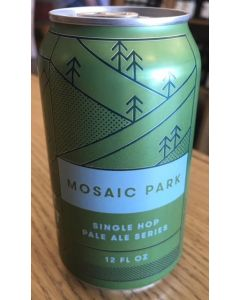 "FORT POINT BREWERY ""MOSAIC PARK"" (1ST RELEASE) SINGLE HOP PALE ALE SERIES-100% MOSAIC HOPS, 12oz(CAN"