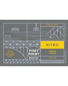 "FORT POINT BREWERY ""NITRO"" SUMMER PORTER, 12OZ (CAN), SAN FRANCISCO, CALIFORNIA"