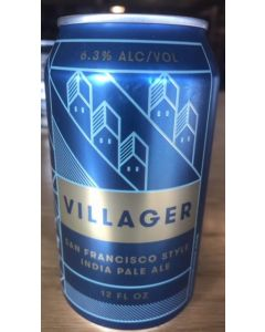 "FORT POINT BREWERY ""VILLAGER"" SAN FRAN IPA, 12oz(can) SAN FRANCISCO, CALIFORNIA"