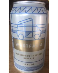 "FORT POINT BREWERY ""WESTFALIA"" NUREMBERG RED ALE, 12oz(can) SAN FRANCISCO, CALIFORNIA"