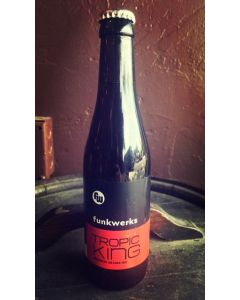 """FUNKWERKS BREWING """"TRPOIC KING"""" IMPERIAL SAISON ALE, 12OZ, FORT COLLINS, COLORADO"""