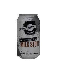 "GARAGE BREWING COMPANY ""MARSHMALLOW"" MILK STOUT, 12oz(can) , TEMECULA, CALIFORNIA"