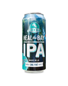"GOLDEN ROAD BREWERY ""HEAL THE BAY"" IPA, 12OZ(CAN) LOS ANGELES, CALIFORNIA"