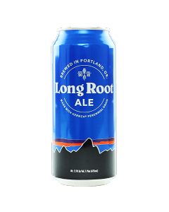 "HOPWORKS URBAN BREWING ""LONG ROOT"" NOTHWEST PALE ALE, 12oz (can) PORTLAND, OREGON"