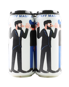 "MIKKELLER BREWING ""STAFF MAGICIAN"" NEW ENGLAND STYLE PALE ALE, 16OZ, SAN DIEGO, CALIFORNIA"