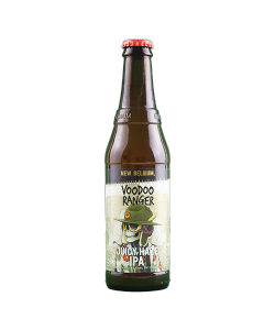 "NEW BELGIUM BREWING ""VOODOO RANGER; JUICY HAZE IPA"" HAZY IPA, 12oz. FORT COLLINS, COLORADO"