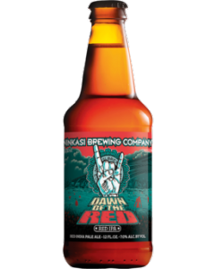 "NINKASI BREWING COMPANY ""DAWN OF THE RED"" RED IPA, 12oz. ,  EUGENE, OREGON"