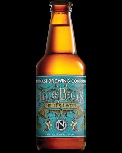 """NINKASI BREWING COMPANY """"HELLES BELLES"""" HELLES LAGER, 12oz. (bottle) EUGENE, OREGON"""