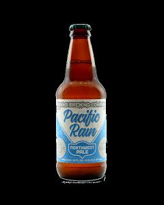 """NINKASI BREWING COMPANY """"PACIFIC RAIN"""" NORTHWEST PALE, 12oz. (bottle) EUGENE, OREGON"""