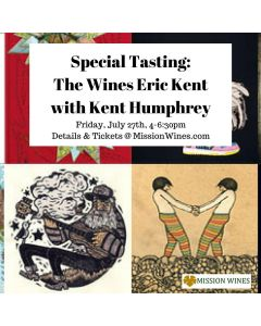 SPECIAL EVENT: ERIC KENT WINE CELLARS with Kent Humphrey