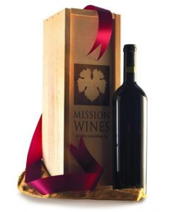 SAVVY BORDEAUX DUO Two-Bottle Holiday Gift Set in Wood Box