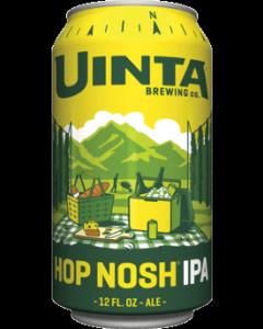 "UINTA BREWERY ""HOP NOSH"" IPA, 12oz (can) SALT LAKE CITY, UTAH"