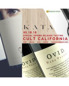 CULT CALIFORNIA CABS: Special 2015 Spring Release Tasting