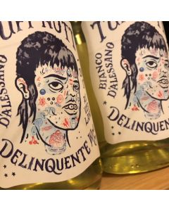 "2018 DELINQUENTE WINE CO ""TUFF NUTT"" BIANCO D'ALESSANO PET NAT RIVERLAND"