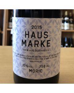 """2015 MORIC """"HAUS MARKE"""" ROT BLAUFRANKISCH BLEND BURGUNLAND"""