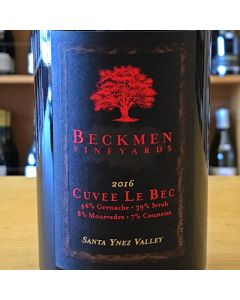 "2017 BECKMEN ""CUVEE LE BEC"" SANTA YNEZ VALLEY RHONE STYLE RED BLEND, CALIFORNIA."