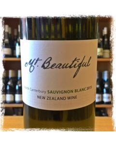 2016 MOUNT BEAUTIFUL NORTH CANTERBURY SAUVIGNON BLANC