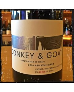 "2014 DONKEY AND GOAT ""FIVE THIRTEEN"" EL DORADO RED BLEND"