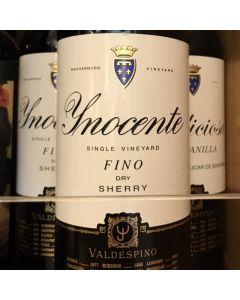 """VALDESPINO """"YNOCENTE"""" FINO SHERRY"""