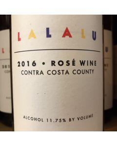 """2016 INCONNU """"LALALU"""" CONTRA COSTA COUNTY ROSE"""