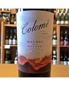 "2014 BODEGA COLOME ""ESTATE"" VALLE CALCHAQUI MALBEC"