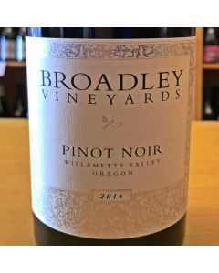 2016 BROADLEY WILLAMETTE VALLEY PINOT NOIR