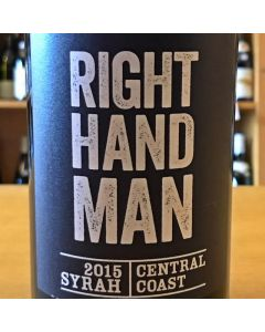 "2016 MCPRICE MYERS ""RIGHT HAND MAN"" CENTRAL COAST SYRAH, CALIFORNIA."