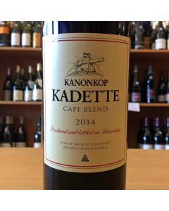 """2015 KANONKOP """"KADETTE"""" CAPE BLEND STELLENBOSCH"""