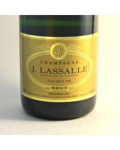 "J LASSALLE ""CACHET OR"" PREMIER CRU BRUT RESERVE CHAMPAGNE"