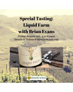 SPECIAL EVENT: LIQUID FARM with Brian Evans